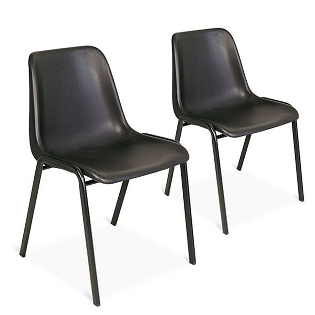 BRB Formschalen-Stühle 2er-Set - Bild 1