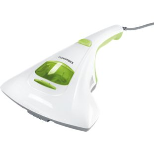 CLEANmaxx Milben-Handstaubsauger mit UV-C-Licht 300W weiß/limegreen - Bild 1