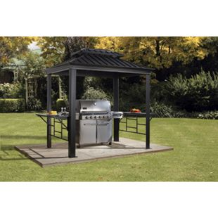 Sojag Pavillon Messina 6x8 BBQ - Bild 1