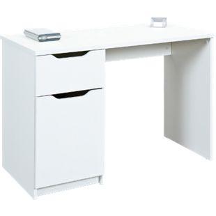 Inter Link Schreibtisch >WESTPHALEN< 1 in weiss - Bild 1