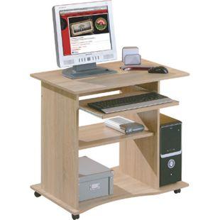 Inter Link Schreibtisch >Durini< in Sonoma-Eiche - Bild 1