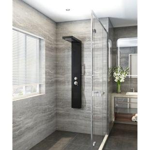 Home Deluxe Duschpaneel Cascata, schwarz - Bild 1