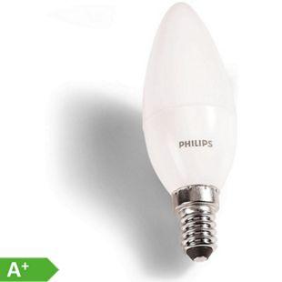 PHILIPS LED Leuchtmittel - 4er Pack, E14 Kerze 40W - Bild 1