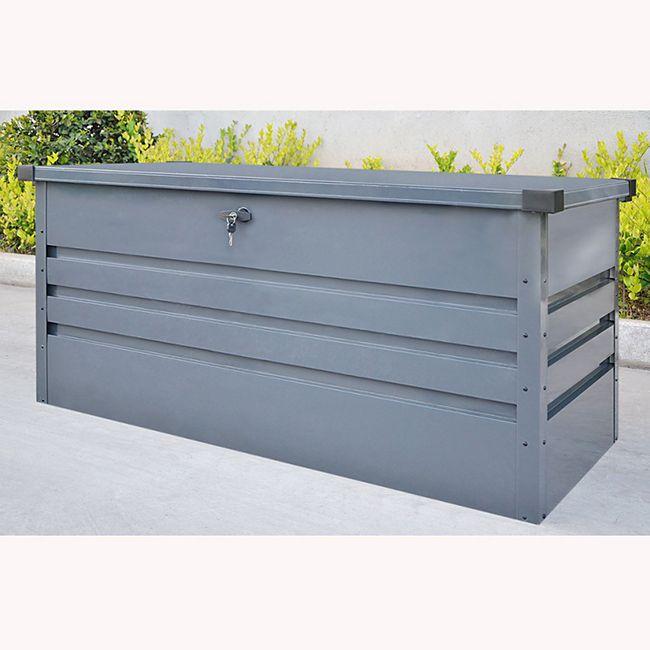 Home Deluxe Metallaufbewahrungsbox Megabox, XL 400 Liter - Bild 1