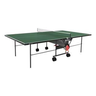 Sponeta Outdoor Tischtennisplatte mit Schlägerset und Abdeckhülle grün - Bild 1