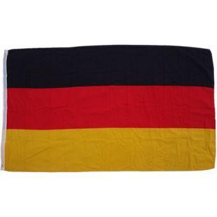 XXL Flagge Deutschland 250 x 150 cm Fahne mit 3 Ösen 100g/m² Stoffgewicht - Bild 1