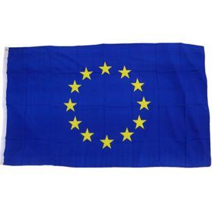 XXL Flagge Europa 250 x 150 cm Fahne mit 3 Ösen 100g/m² Stoffgewicht - Bild 1