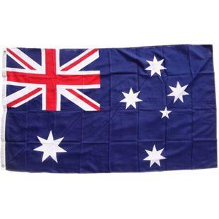 XXL Flagge Australien 250 x 150 cm Fahne mit 3 Ösen 100g/m² Stoffgewicht - Bild 1