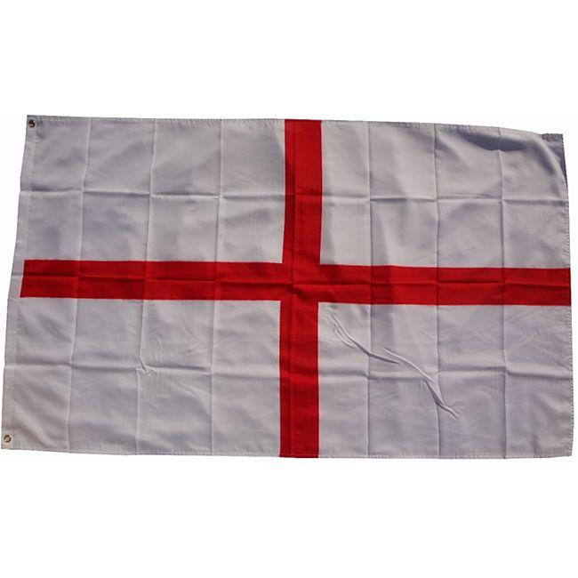 XXL Flagge England 250 x 150 cm Fahne mit 3 Ösen 100g/m² Stoffgewicht - Bild 1