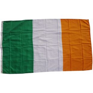 XXL Flagge Irland 250 x 150 cm Fahne mit 3 Ösen 100g/m² Stoffgewicht - Bild 1