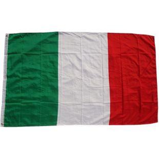 XXL Flagge Italien 250 x 150 cm Fahne mit 3 Ösen 100g/m² Stoffgewicht - Bild 1