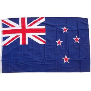 XXL Flagge Neuseeland 250 x 150 cm Fahne mit 3 Ösen 100g/m² Stoffgewicht - Bild 1