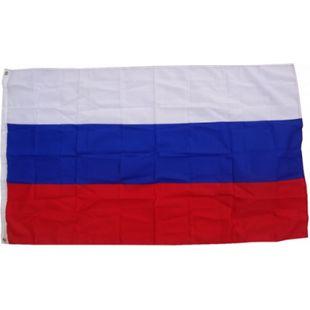 XXL Flagge Russland 250 x 150 cm Fahne mit 3 Ösen 100g/m² Stoffgewicht - Bild 1