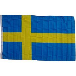 XXL Flagge Schweden 250 x 150 cm Fahne mit 3 Ösen 100g/m² Stoffgewicht - Bild 1