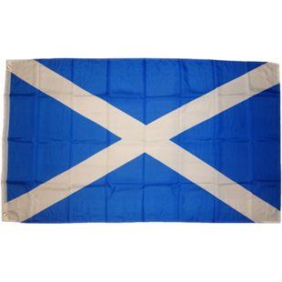 XXL Flagge Schottland 250 x 150 cm Fahne mit 3 Ösen 100g/m² Stoffgewicht - Bild 1