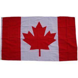 XXL Flagge Kanada 250 x 150 cm Fahne mit 3 Ösen 100g/m² Stoffgewicht - Bild 1