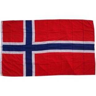 XXL Flagge Norwegen 250 x 150 cm Fahne mit 3 Ösen 100g/m² Stoffgewicht - Bild 1