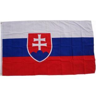 XXL Flagge Slowakei 250 x 150 cm Fahne mit 3 Ösen 100g/m² Stoffgewicht - Bild 1