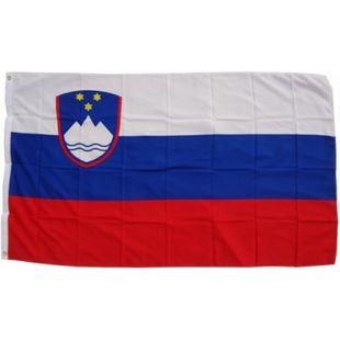 XXL Flagge Slowenien 250 x 150 cm Fahne mit 3 Ösen 100g/m² Stoffgewicht - Bild 1