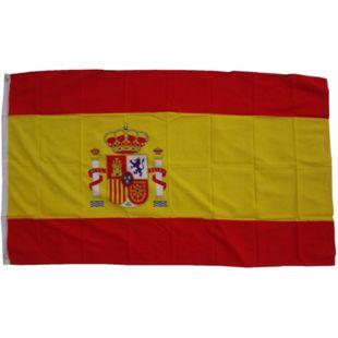 XXL Flagge Spanien 250 x 150 cm Fahne mit 3 Ösen 100g/m² Stoffgewicht - Bild 1
