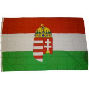 XXL Flagge Ungarn 250 x 150 cm Fahne mit 3 Ösen 100g/m² Stoffgewicht - Bild 1