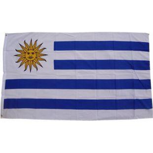 XXL Flagge Uruguay 250 x 150 cm Fahne mit 3 Ösen 100g/m² Stoffgewicht - Bild 1