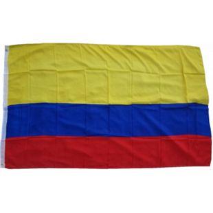 XXL Flagge Kolumbien 250 x 150 cm Fahne mit 3 Ösen 100g/m² Stoffgewicht - Bild 1