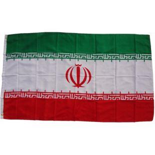 XXL Flagge Iran 250 x 150 cm Fahne mit 3 Ösen 100g/m² Stoffgewicht - Bild 1