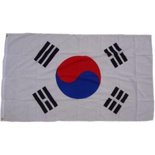 XXL Flagge Südkorea 250 x 150 cm Fahne mit 3 Ösen 100g/m² Stoffgewicht - Bild 1