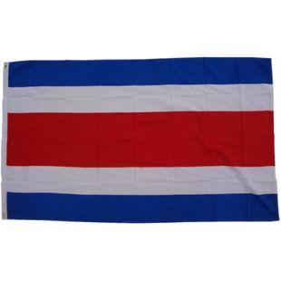 XXL Flagge Costa Rica 250 x 150 cm Fahne mit 3 Ösen 100g/m² Stoffgewicht - Bild 1