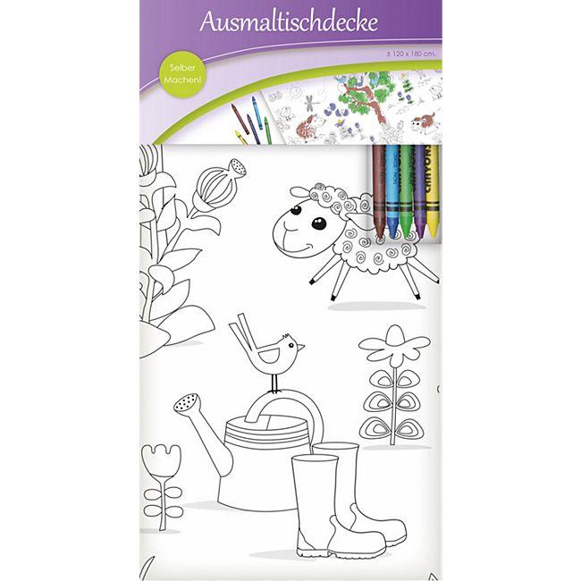Bastelartikel - Table cover to colour - Bild 1