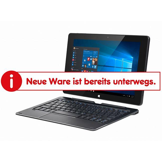Krüger & Matz EDGE KM1086 2in1 Tablet PC 10,1? mit Tastatur Win10 Netbook Notebook Laptop - Bild 1