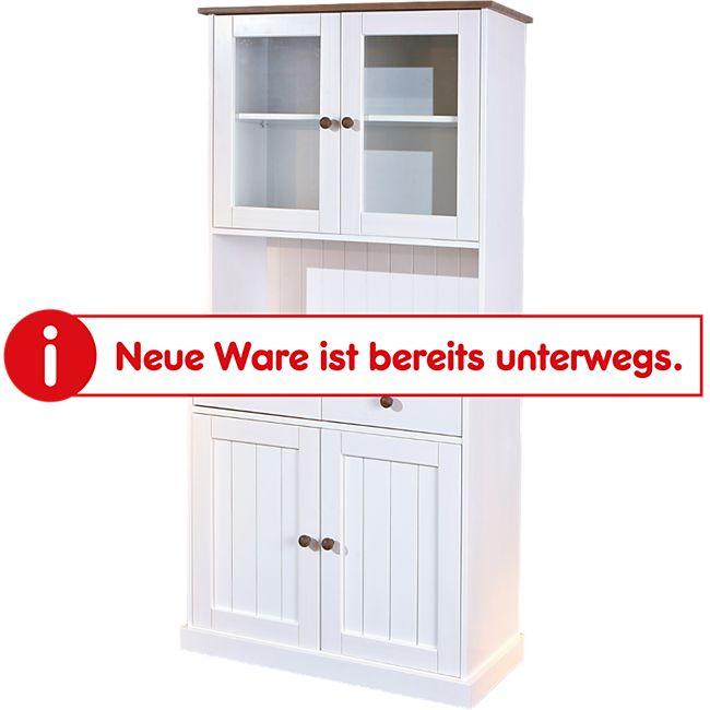 Inter Link Buffet Westerland 5.2., 4-türig weiß-sepia - Bild 1