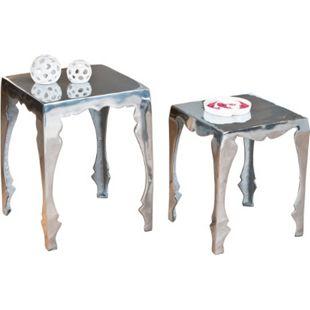 Inter Link Beistelltisch-Set Solta Aluminium - Bild 1