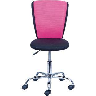 Inter Link Drehstuhl CC 15-1 schwarz/Pink - Bild 1