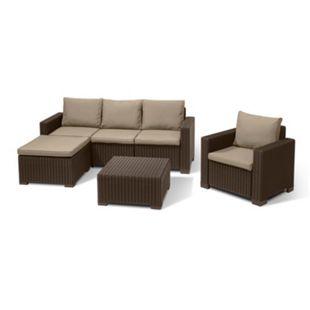 Allibert Lounge Set MOOREA braun - Bild 1