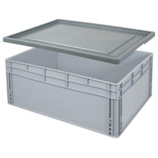 BRB 21624 Euro-Stapelbehälter-Set 80 x 60 x 32 cm - Bild 1