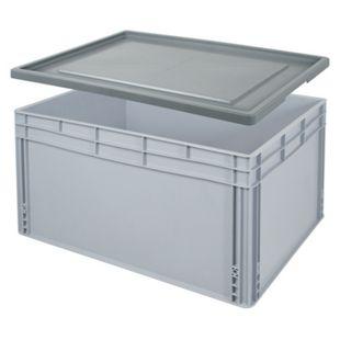 BRB 21626 Euro-Stapelbehälter-Set 80 x 60 x 42 cm - Bild 1