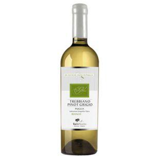 Torre Santa Trebbiano Pinot Grigio Puglia IGT 11,5 % vol 0,75 Liter - Bild 1
