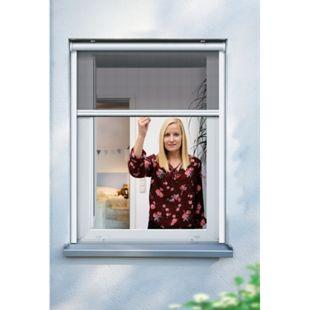 Schellenberg Insektenschutzrollo für Fenster, 100 x 160 cm, weiß - Bild 1