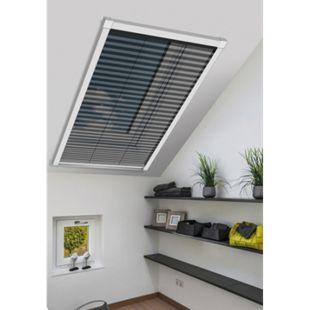 Schellenberg Insektenschutz-plissee für Dachfenster, 114 x 160 cm, weiß - Bild 1