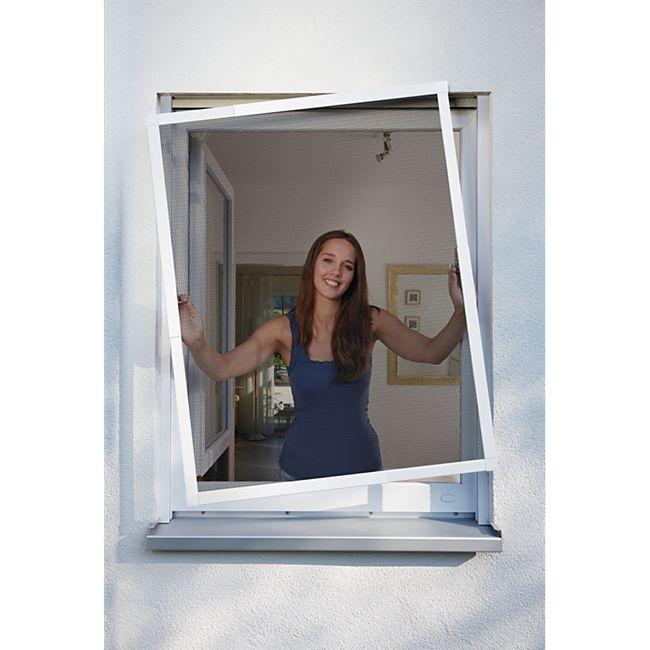 Schellenberg Telescope Insektenschutz für Fenster 140 x 150 cm, weiß - Bild 1