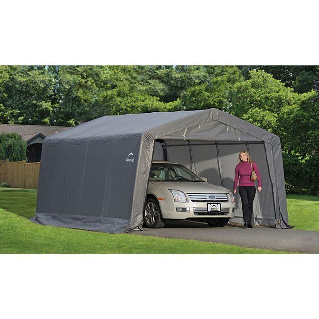 ShelterLogic Garage 370x490x240 cm 18 m² - Bild 1