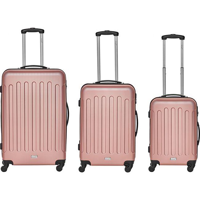 Packenger Travelstar 3er Kofferset, Mauve - Bild 1