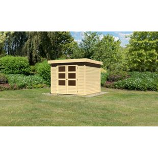 Woodfeeling Askola 3,5 Gartenhaus naturbelassen - Bild 1