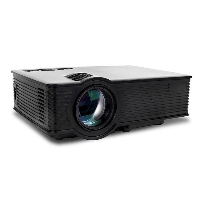 GoClever Cineo Focus II FullHD LED Beamer Projektor 1350 Lumen Heimkino TV 1080p - Bild 1