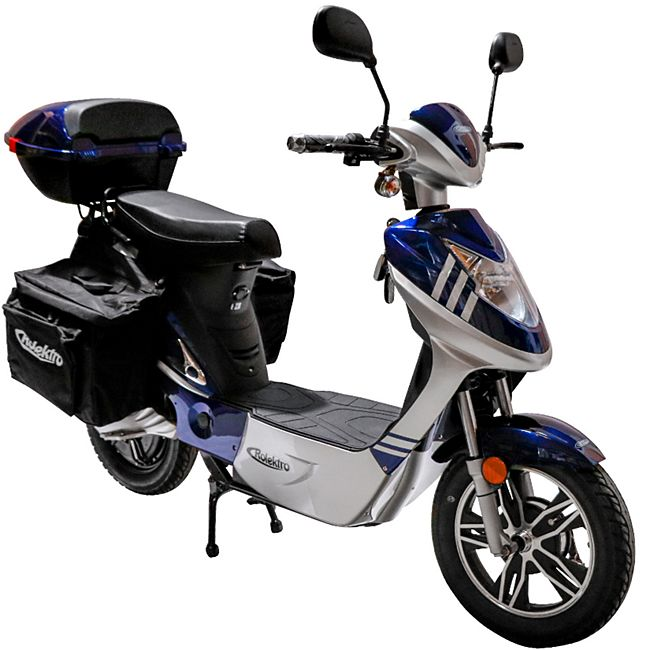 Rolektro eco-City 45 V.2 PLUS Blau/ Silber - Bild 1