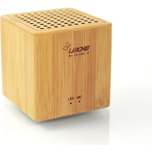 "Sharon Bluetooth Lautprecher ""DJ Roxxx Big Woody"", Holz-Look - Bild 1"