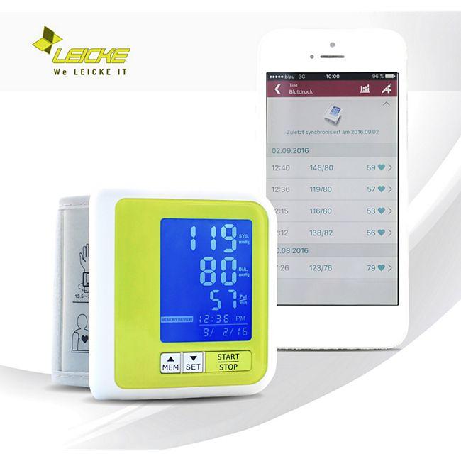 Sharon Bluetooth Handgelenk-Blutdruckmessgerät integrierter Akku - Bild 1