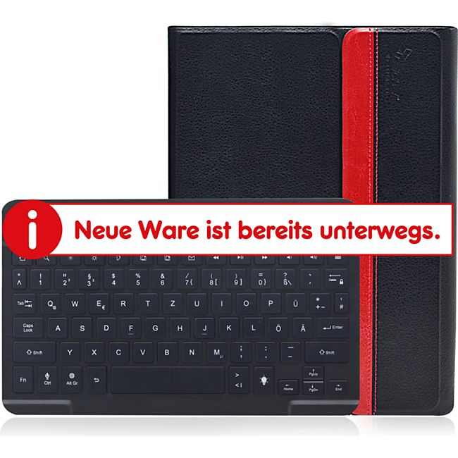 """Sharon Galaxy Tab S2 9.7"""" Hülle mit beleuchteter Bluetooth - Tastatur - Bild 1"""